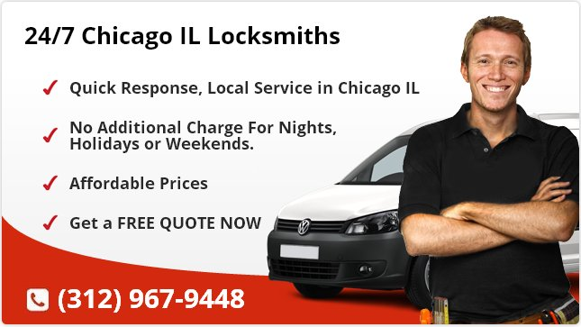 24 Hour Locksmith Chicago IL